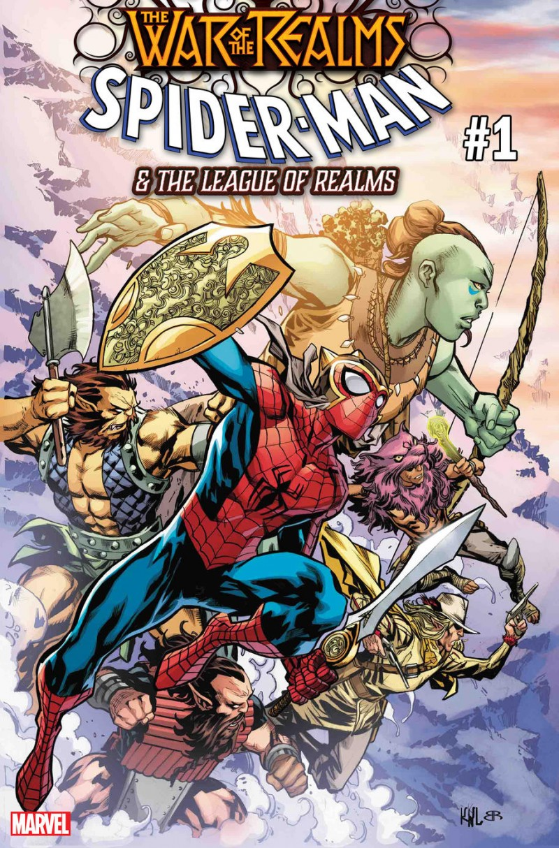 War of Realms Spider-Man and League of Realms #1