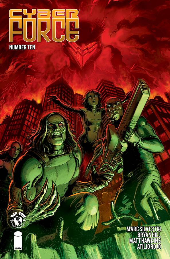 Cyber Force  #10