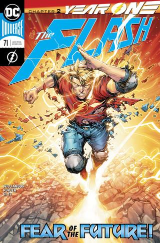 Flash  #71 CVR A