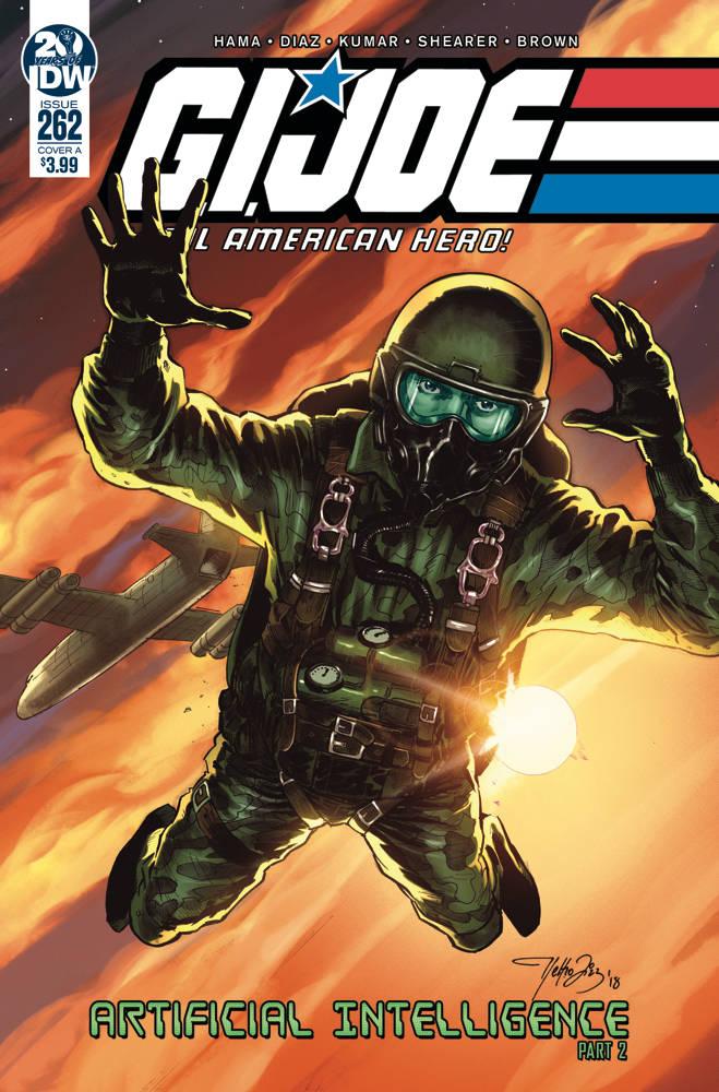GI Joe  #262 a Real American Hero CVR A Diaz