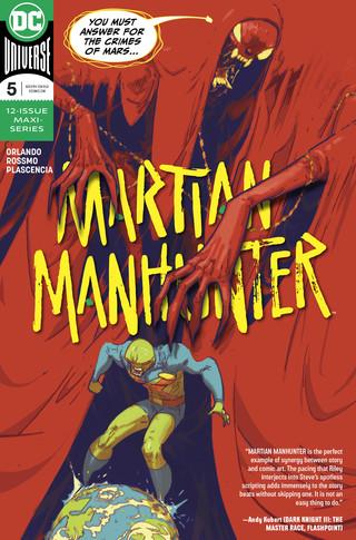 Martian Manhunter  #5 CVR A