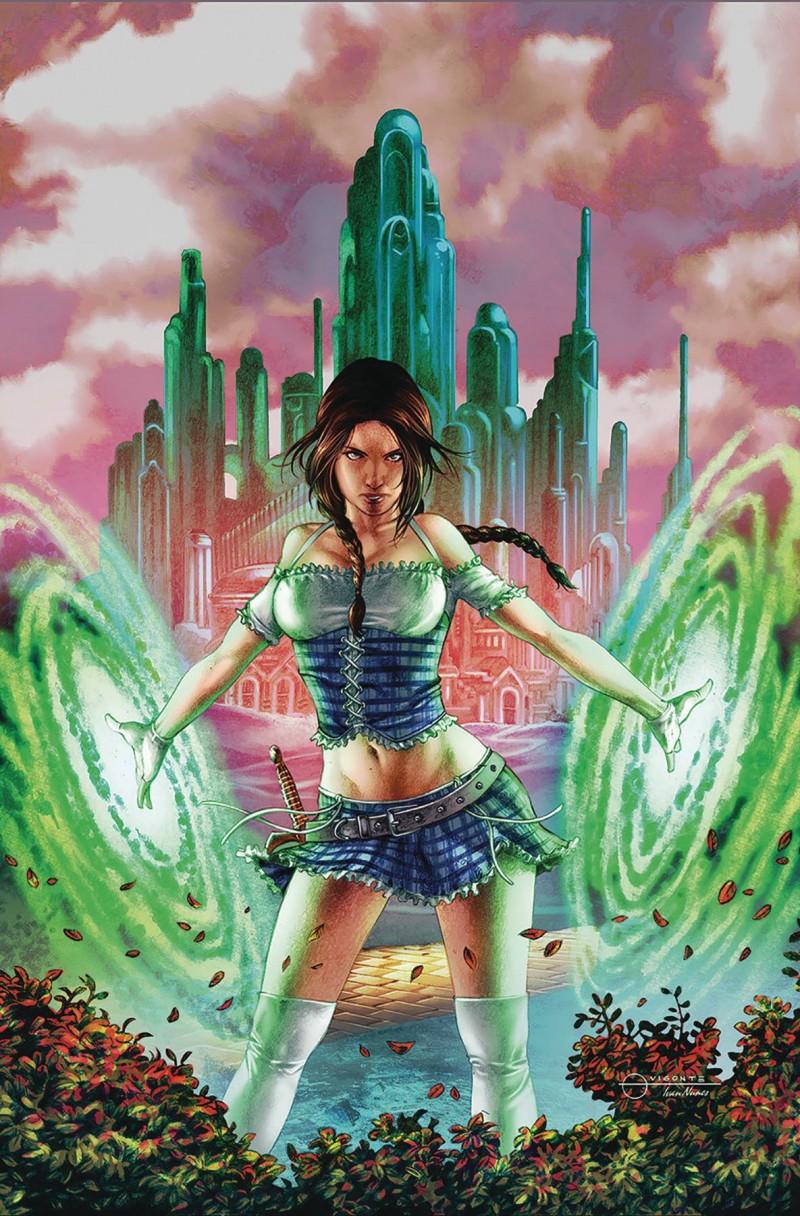 Oz Heart of Magic #2 CVR C Vigonte