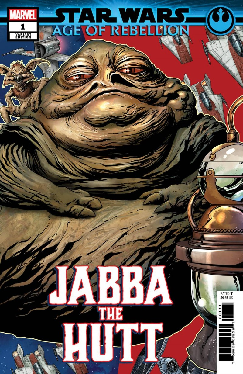 Star Wars Age of Republic One-Shot Jabba the Hutt Variant McKone Puzzle