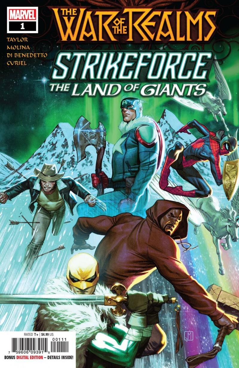 War of Realms Strikeforce Land of Giants #1
