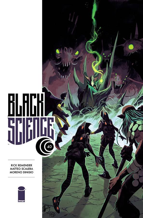 Black Science #40 CVR A Scalera