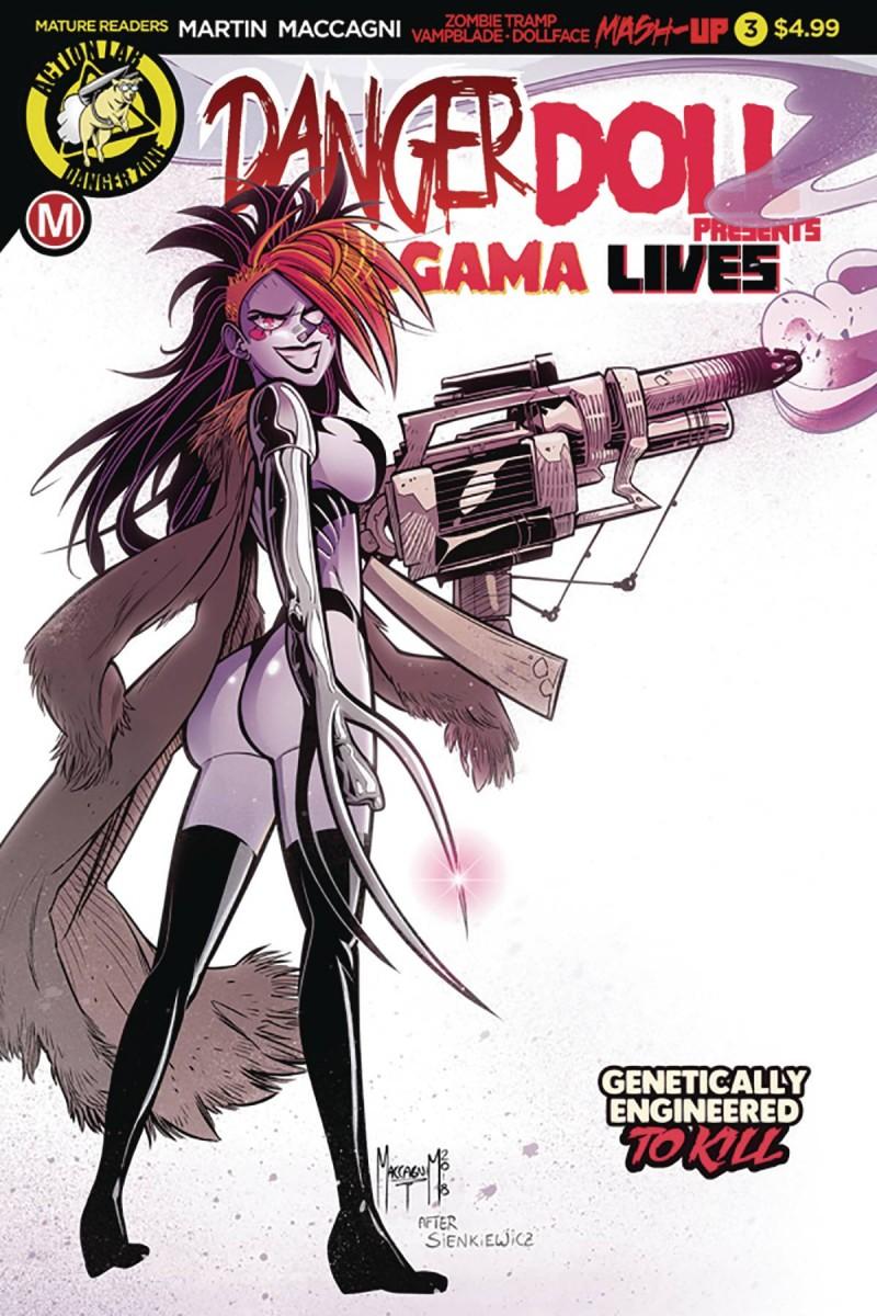 Danger Doll Squad Presents Amalgama Lives #3 CVR A Maccagni