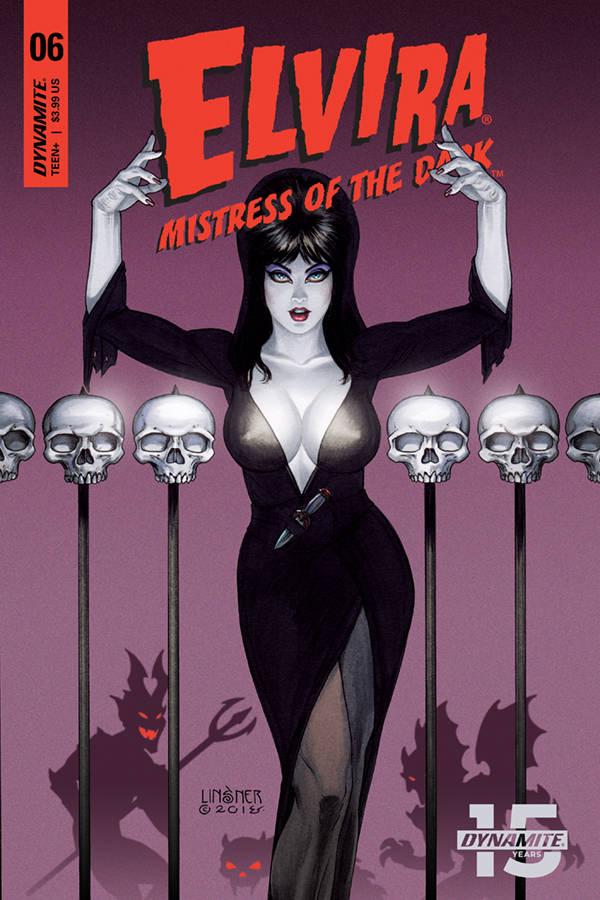 Elvira Mistress of Dark #6 CVR A Linsner