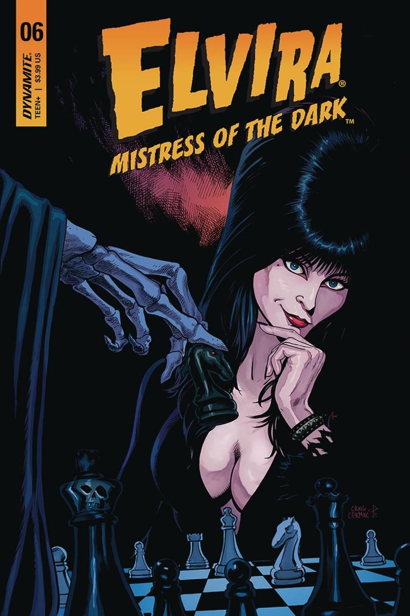 Elvira Mistress of Dark #6 CVR B Cermak