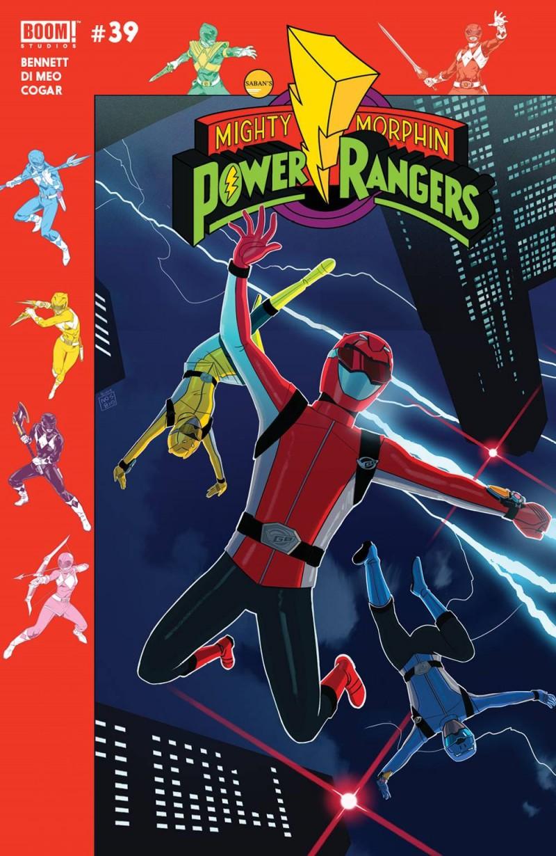 Mighty Morphin Power Rangers #39 CVR B Preorder Gibson