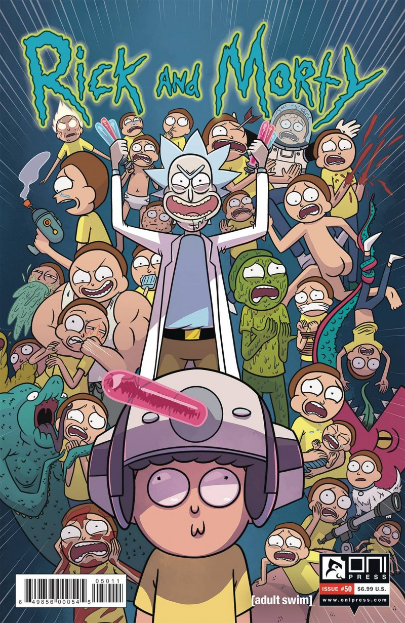 Rick and Morty #50 CVR A