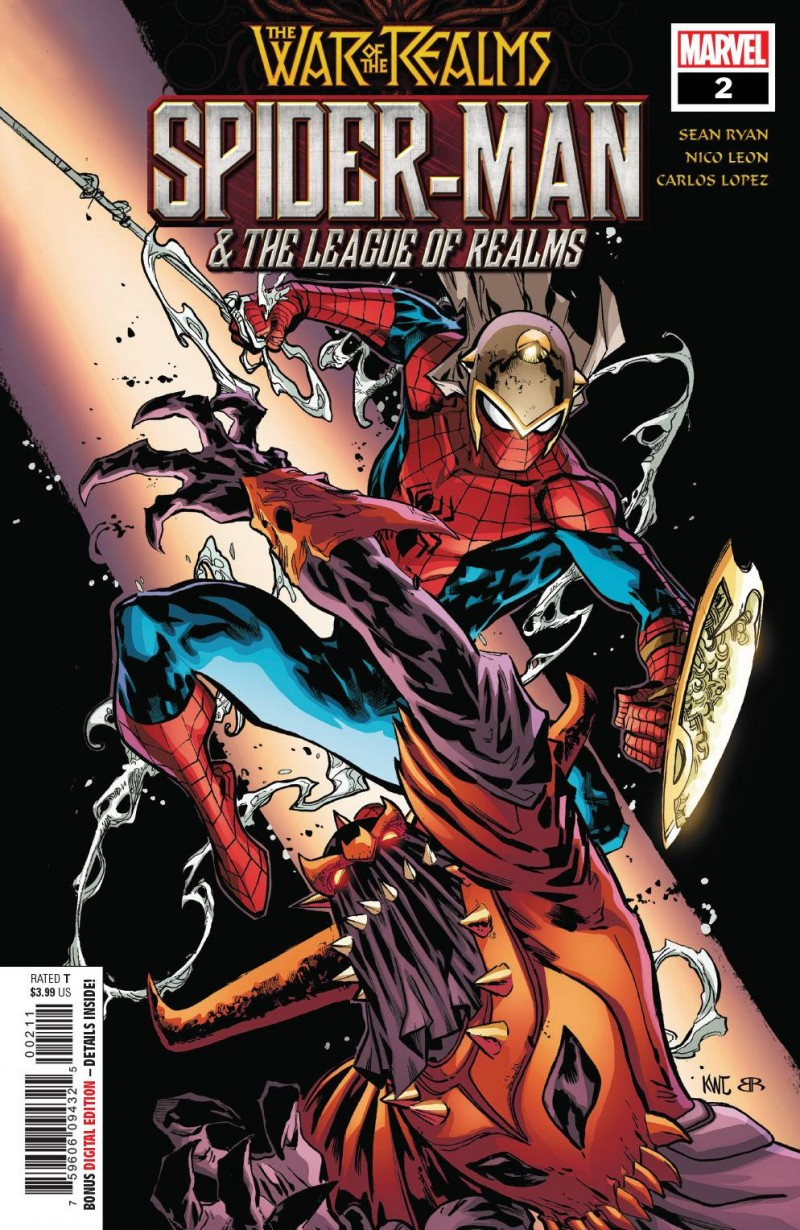 War of Realms Spider-man and League of Realms #2