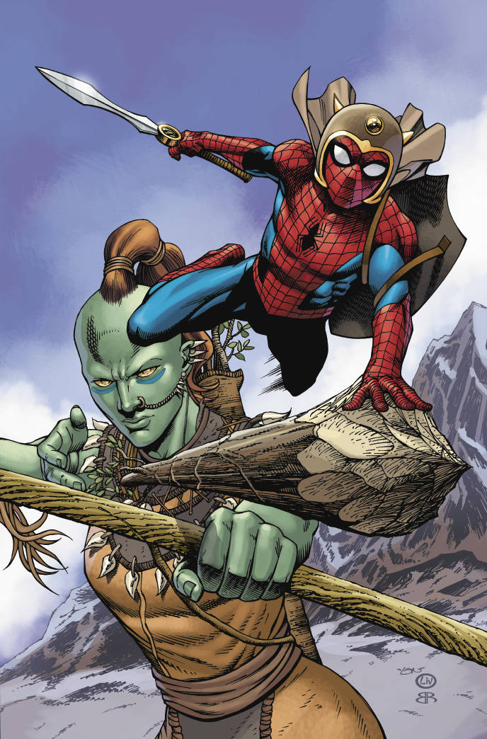 War of Realms Spider-man and League of Realms #2 Variant Artist