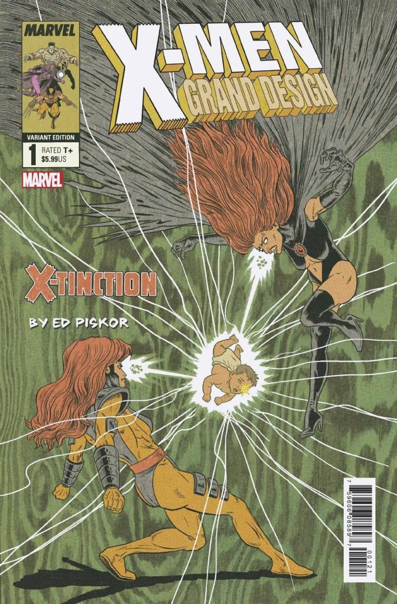 X-men Grand Design X-tinction #2 Variant Piskor