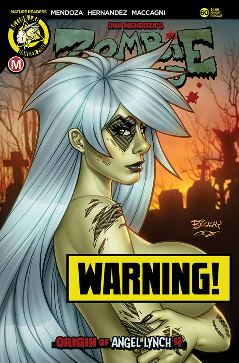 Zombie Tramp  #60 CVR D McKay Risque