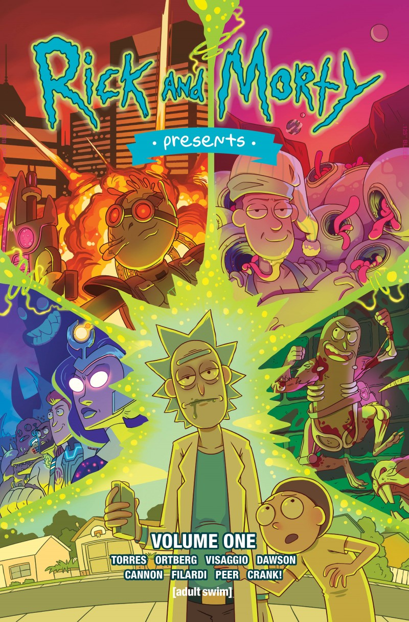 Rick and Morty TP Presents