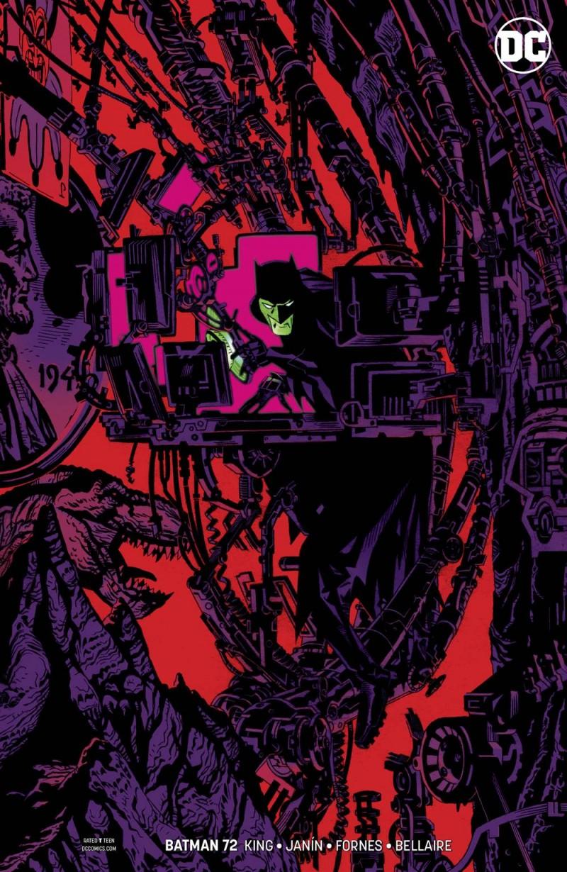 Batman  #72 CVR B