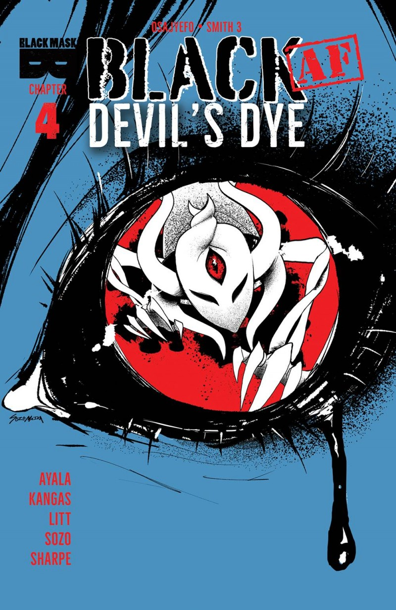 Black AF Devils Dye #4