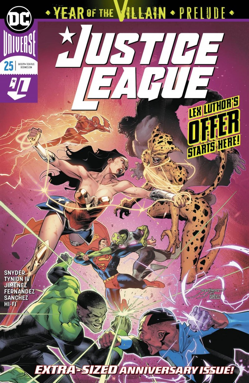 Justice League  #25 CVR A