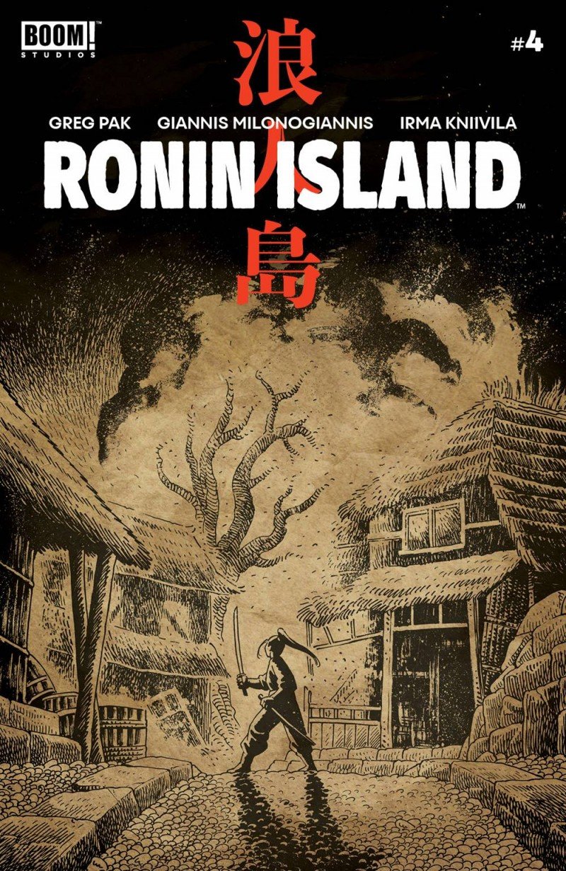 Ronin Island #4 CVR B Preorder Young