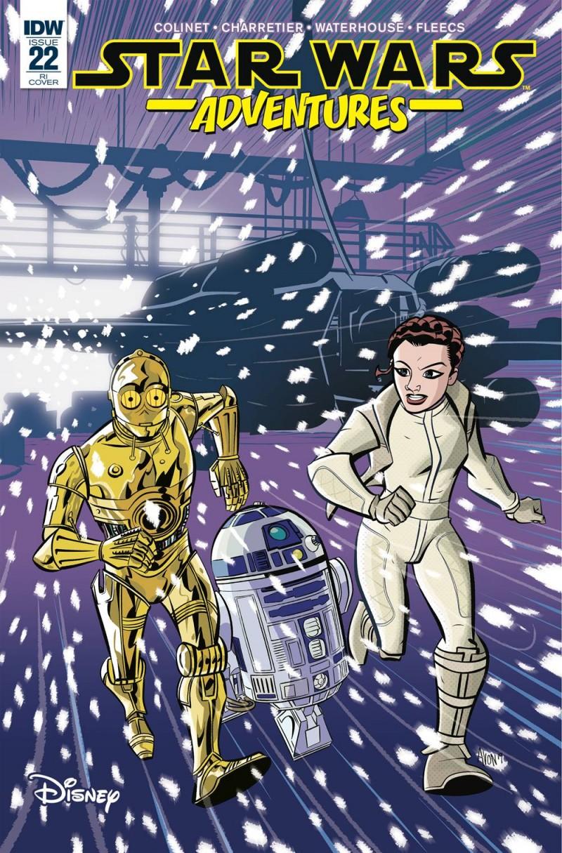 Star Wars Adventures #22 Variant 10 Copy Oeming