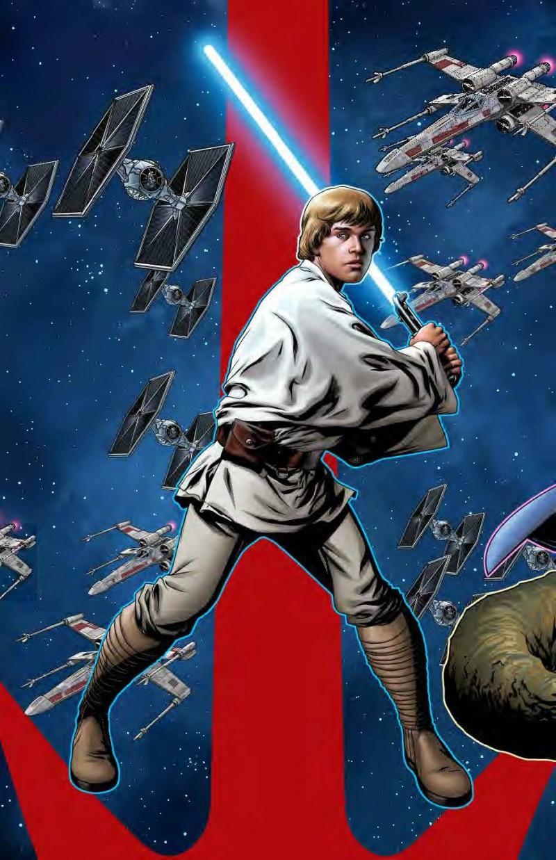 Star Wars Age of Republic One-Shot Luke Skywalker Variant McKone Puzzle