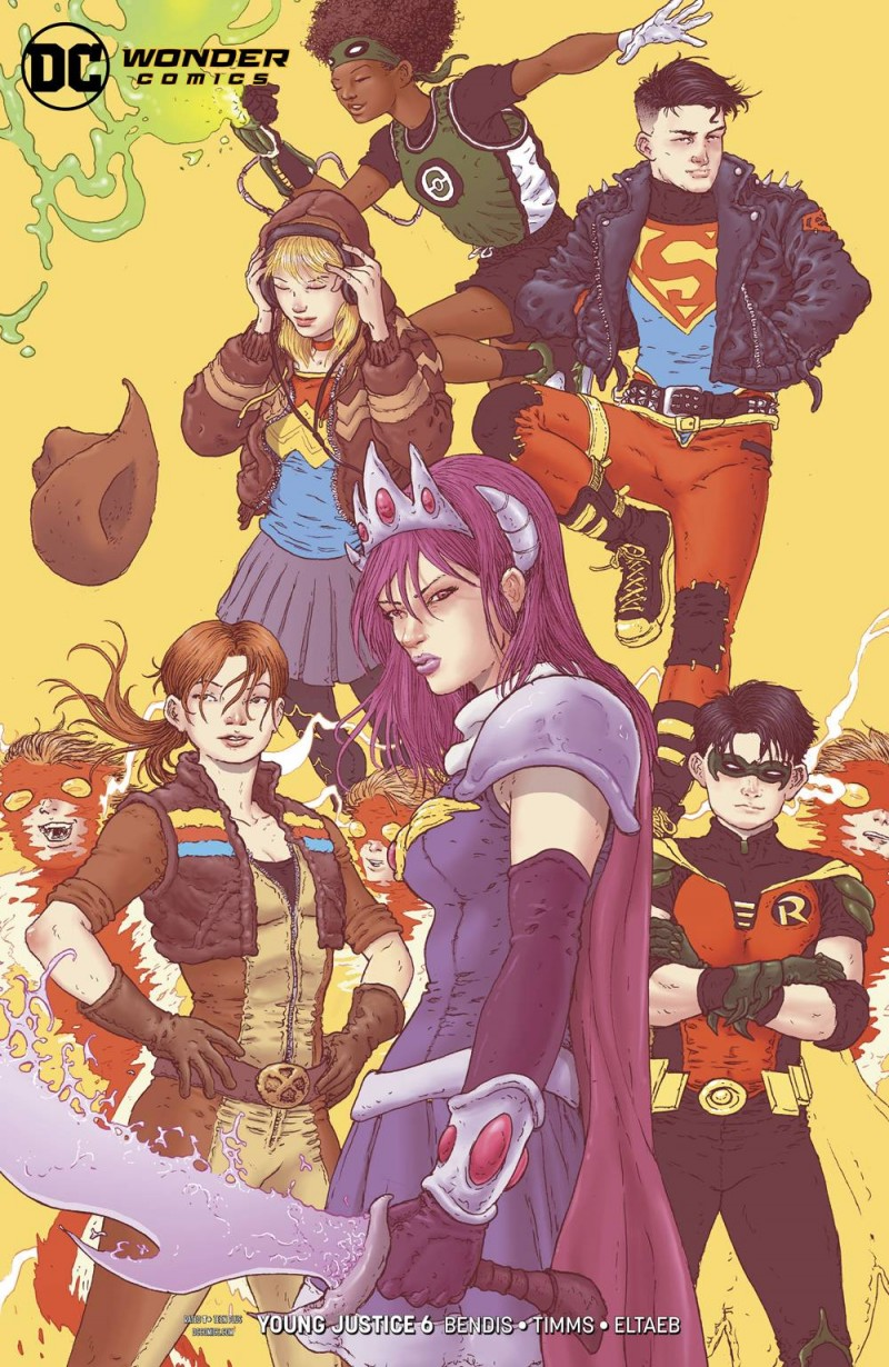 Young Justice  #6 CVR B
