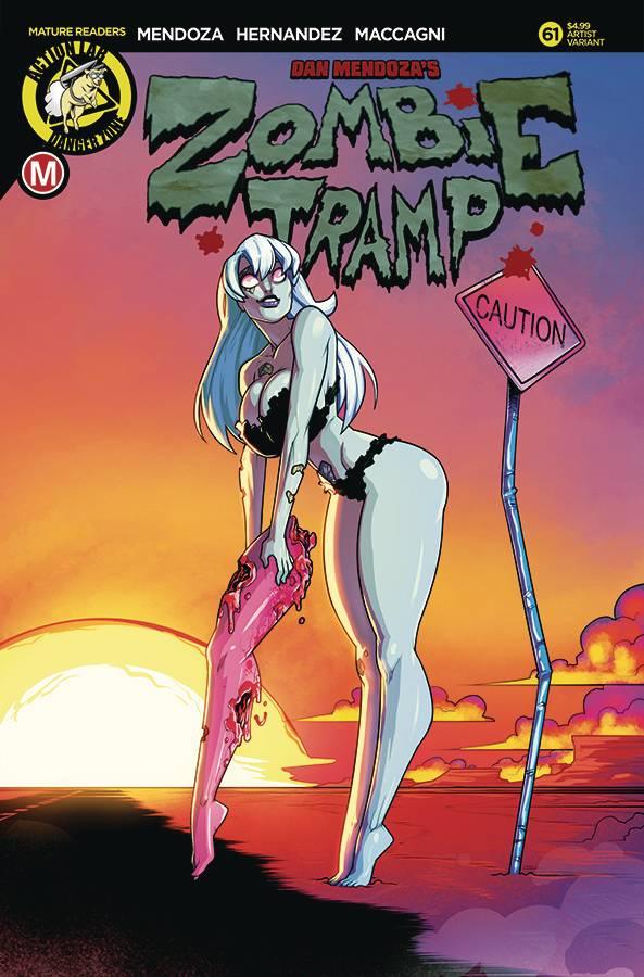 Zombie Tramp  #61 CVR C Federhenn