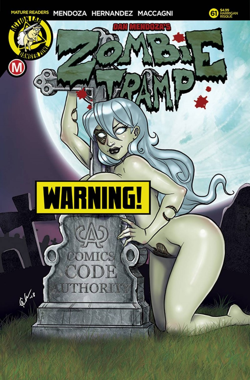 Zombie Tramp  #61 CVR F Harrigan Risque