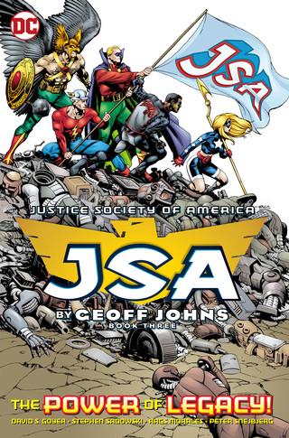 JSA TP Geoff Johns