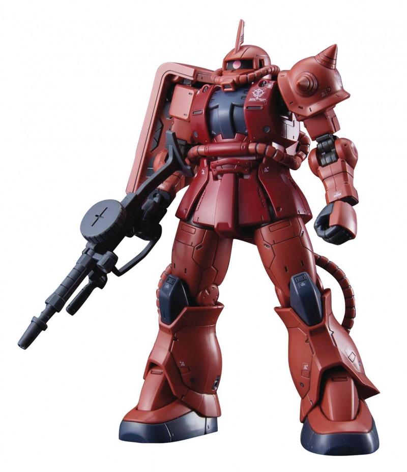 Gundam HG 1/144 Origin Ms-06s Zaku II Char Red Comet