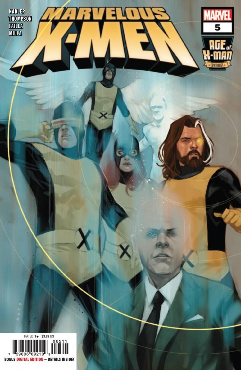 Age of X-Man Marvelous X-Men #5
