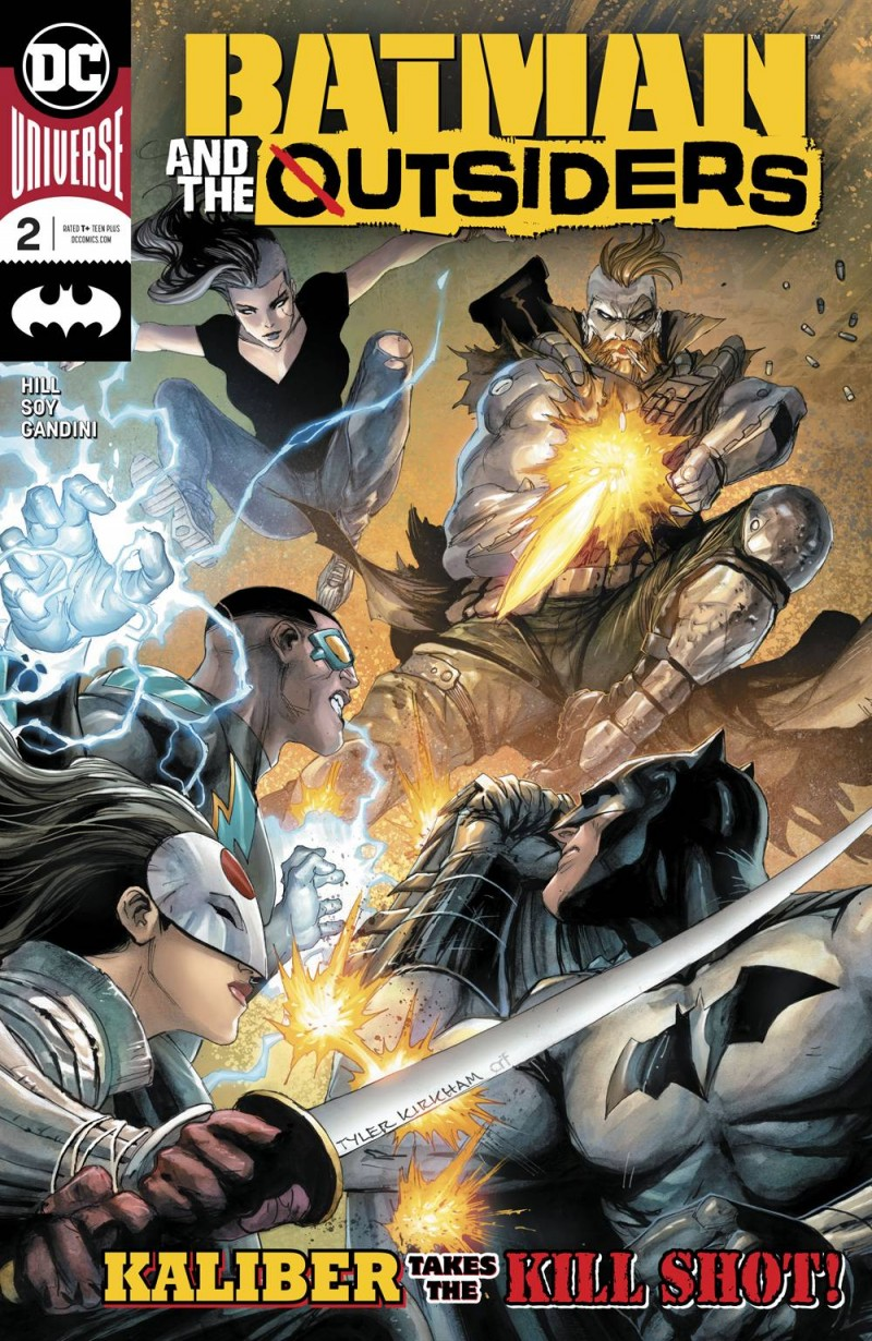 Batman and the Outsiders  #2 CVR A