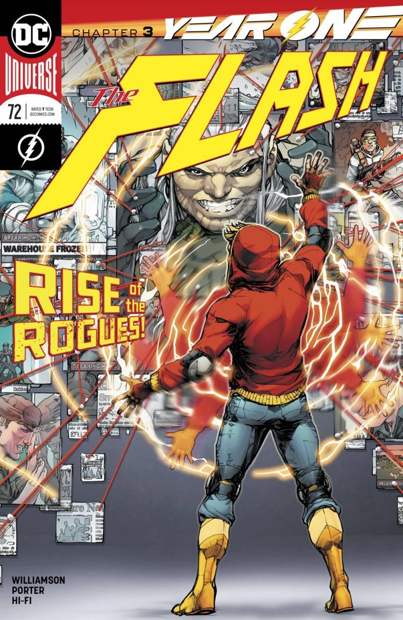 Flash  #72 CVR A