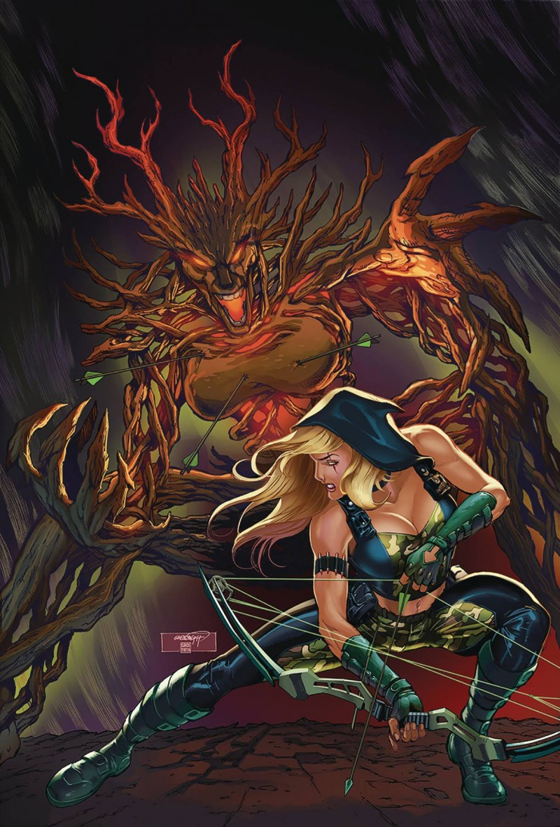Robyn Hood Outlaw #5 CVR B Goh