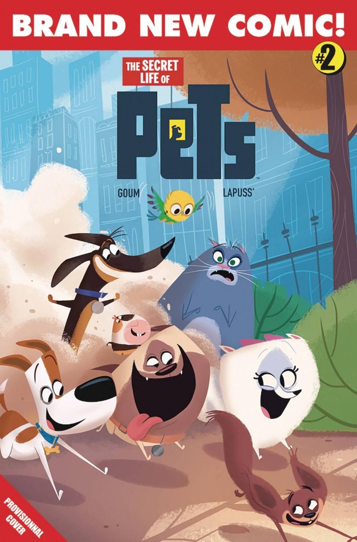 Secret Life of Pets #2 CVR A