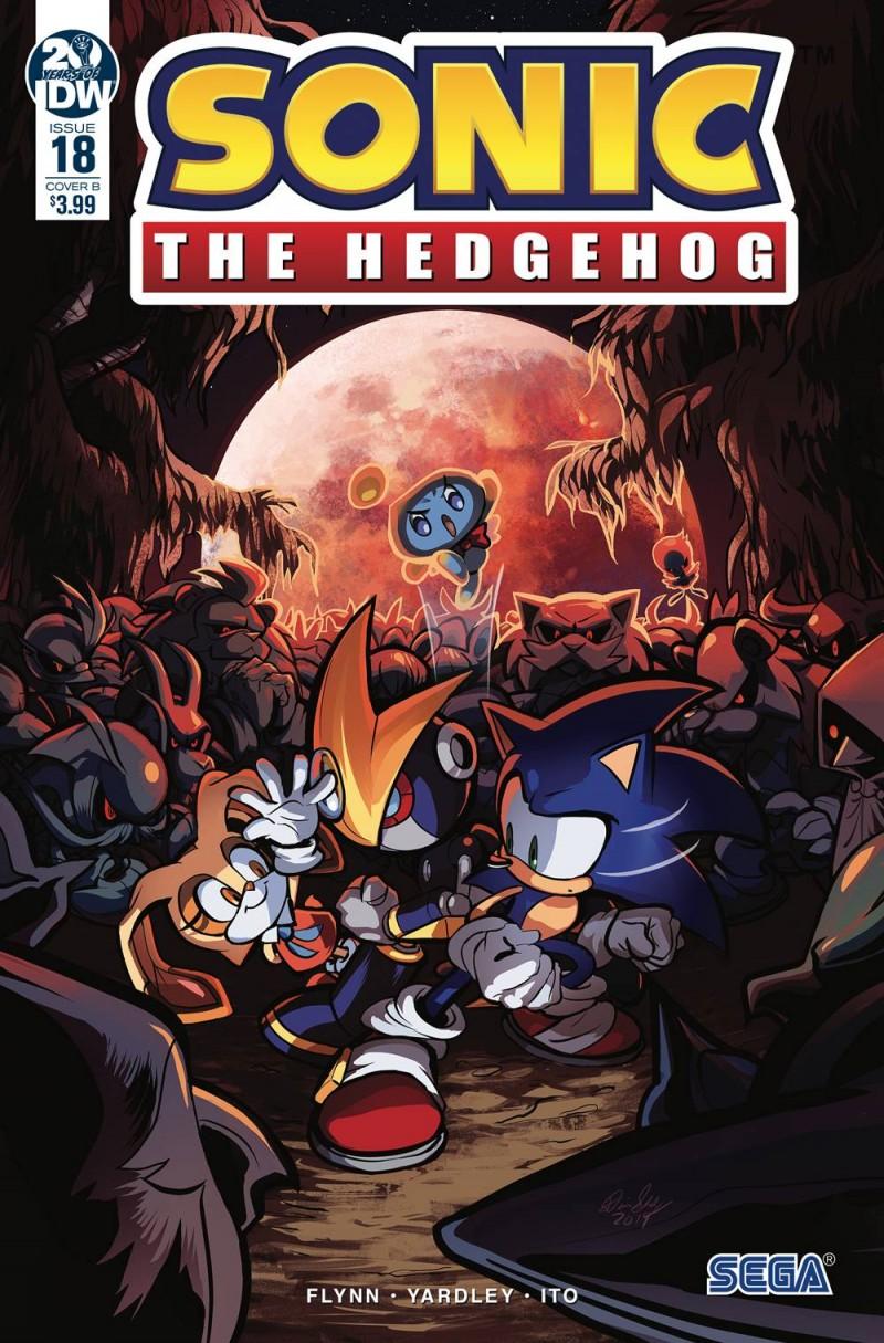 Sonic the Hedgehog  #18 CVR B Skelly