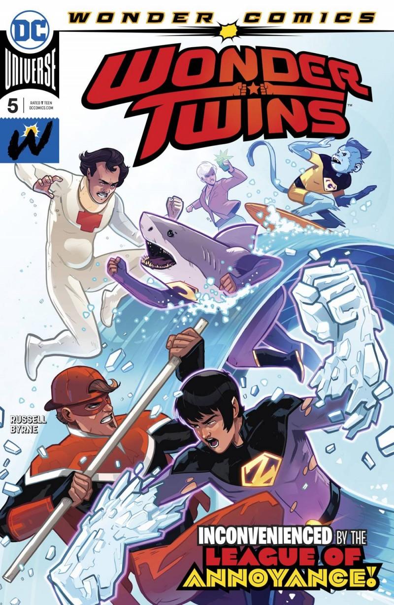 Wonder Twins #5 CVR A