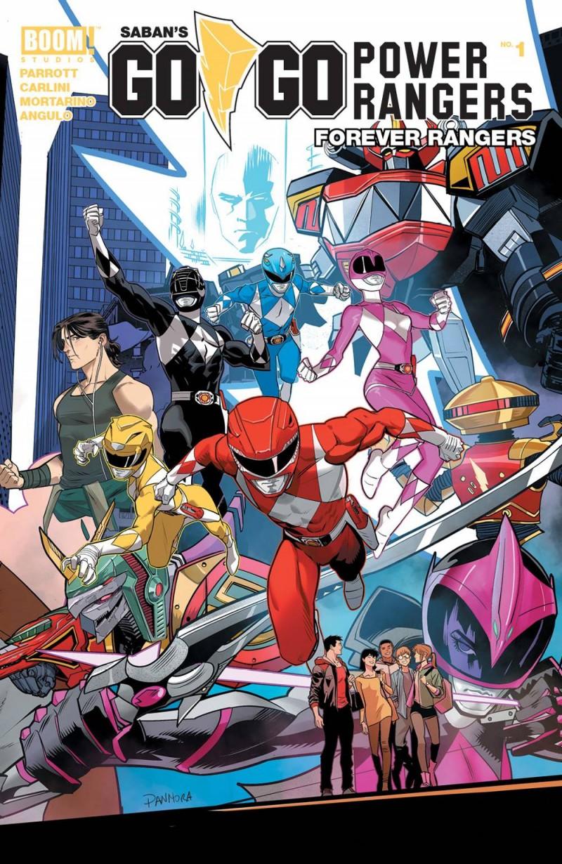 Go Go Power Rangers Forever Rangers #1 CVR A