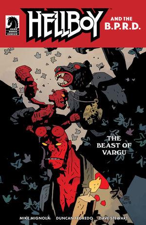 Hellboy and BPRD One-Shot Beast of Vargu CVR B Mignola