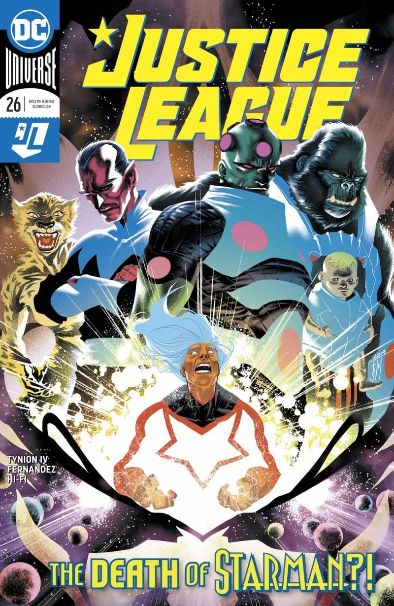 Justice League  #26 CVR A