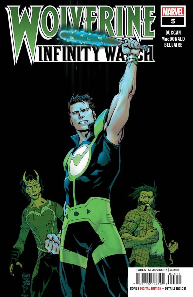 Wolverine Infinity Watch #5