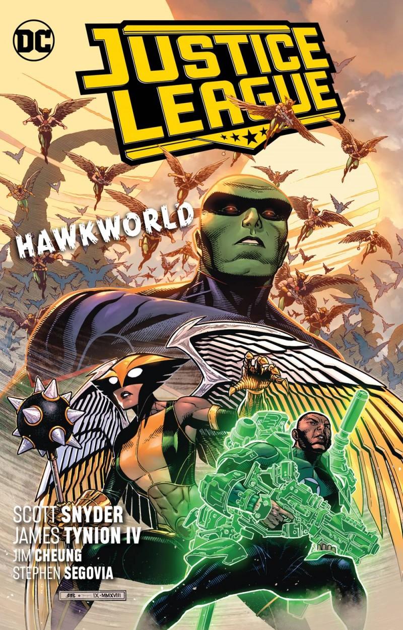 Justice League TP 2018  Hawkworld