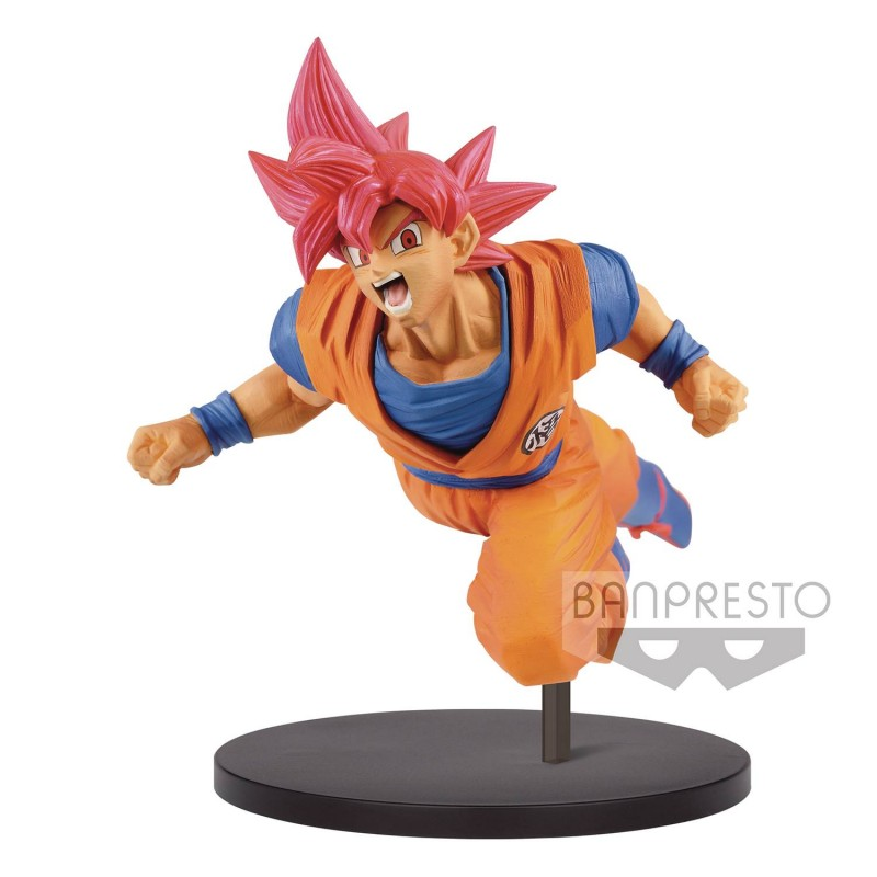 Dragonball Super Son Goku Fes  Figure Super Saiyan God