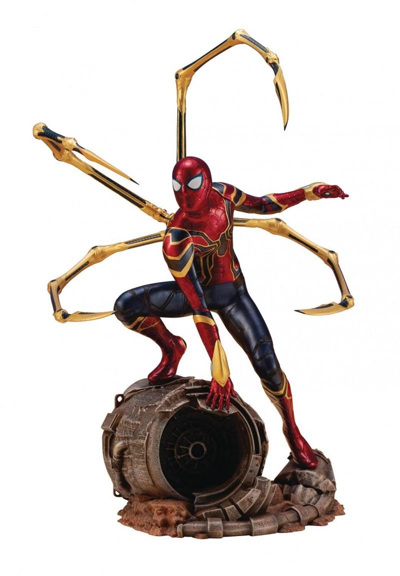 Marvel Artfx Statue Infinity War Iron Spider