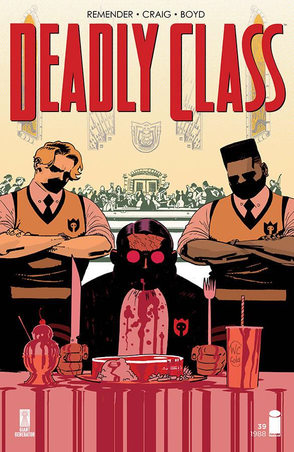 Deadly Class #39 CVR A Craig