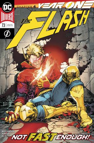Flash  #73 CVR A