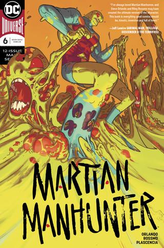 Martian Manhunter  #6 CVR A