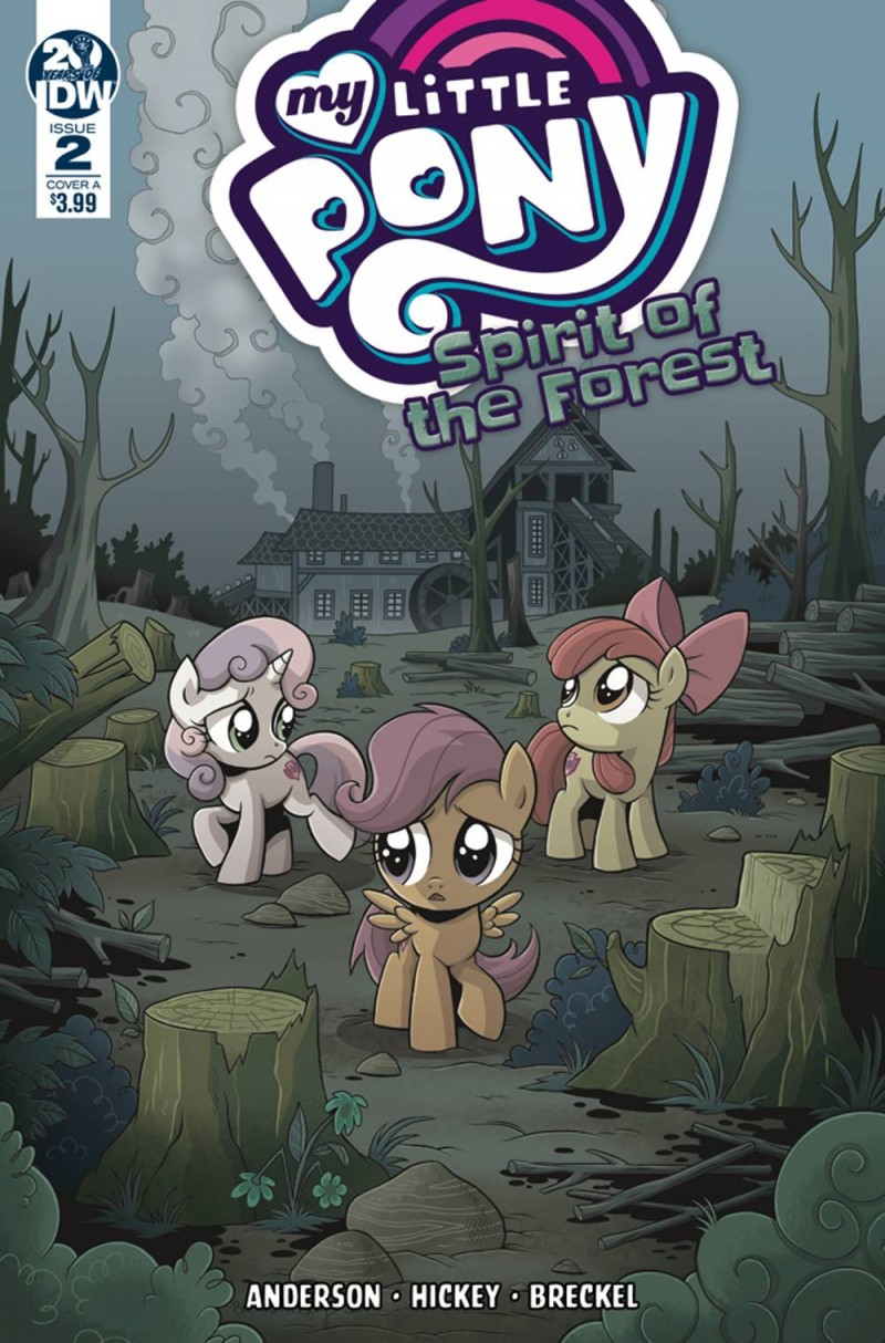 My Little Pony Spirit of the Forest #2 CVR A Hickey