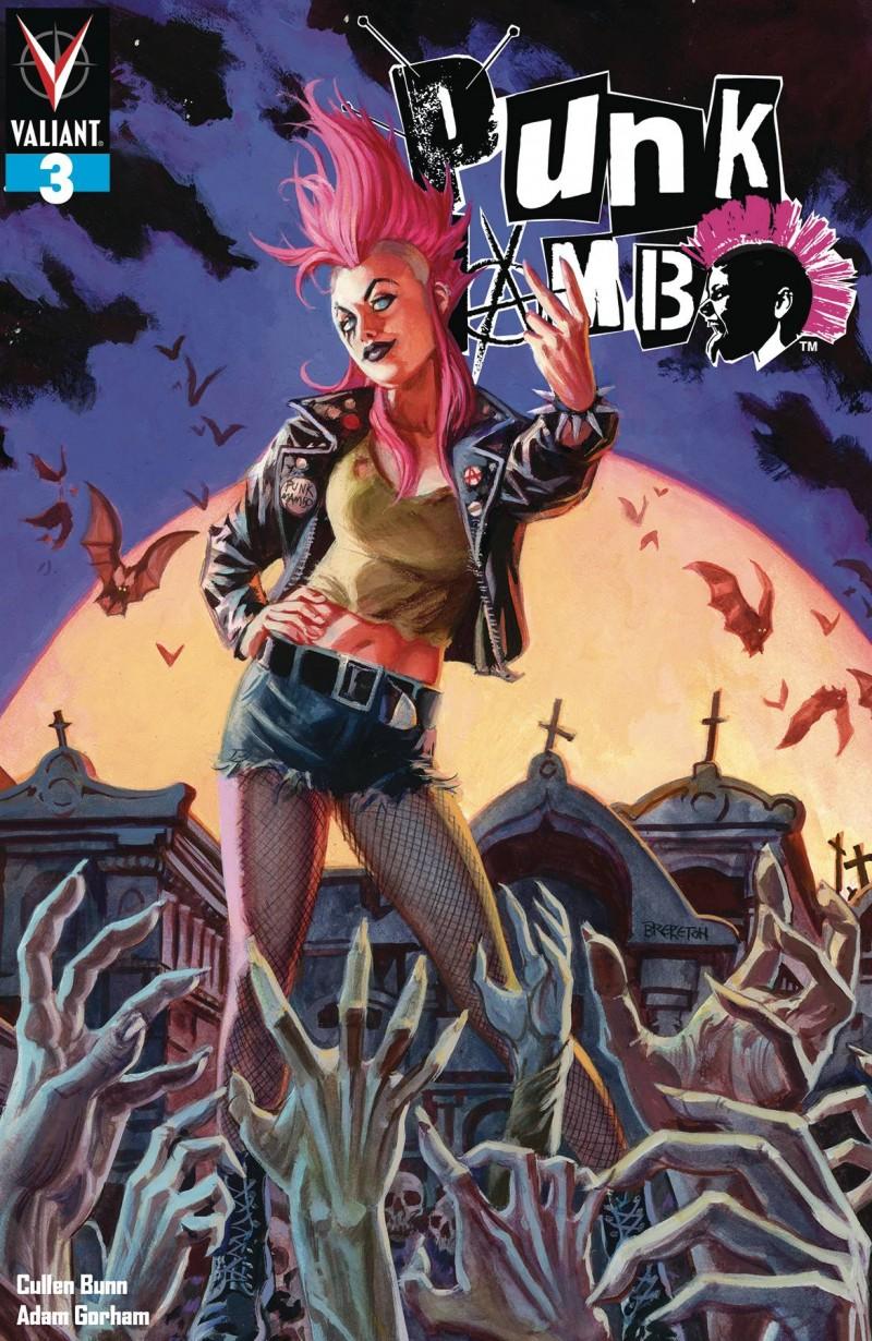 Punk Mambo #3 CVR A Brereton