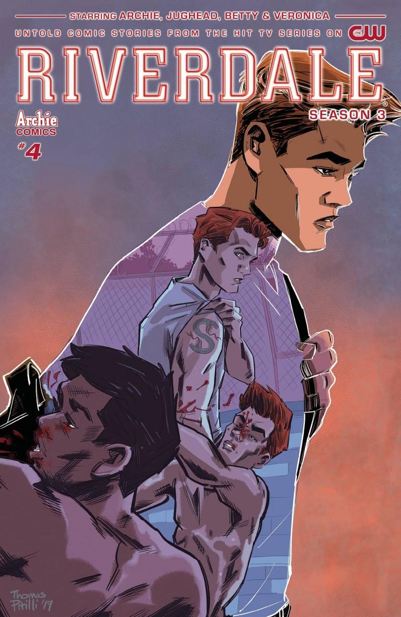 Riverdale Season 3 #4 CVR A Pitilli